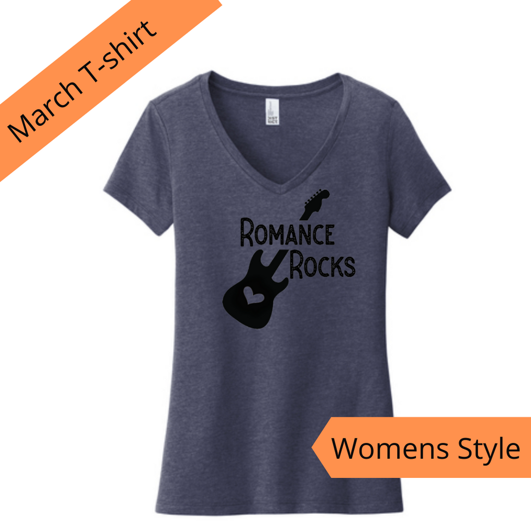 Romance Lovers T-shirt - Romance Rocks!