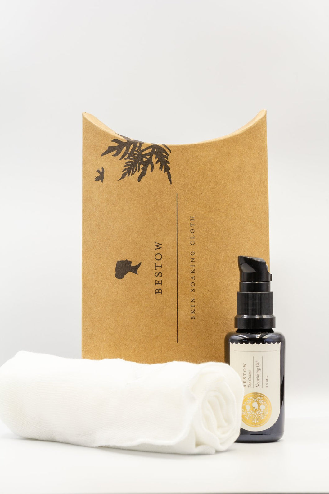 Bestow Nourishing Facial Oil + Soaking Cloth