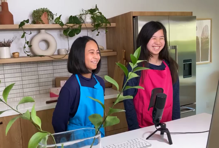 We Are Featured on Celebrity Chef Katie Chin & Becca Cooking Show