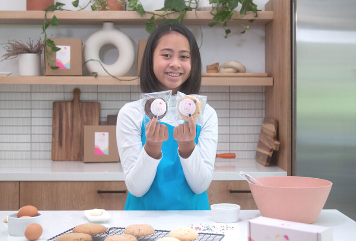 Conscious Kids Cookies on ABC7 for National Cookie Day