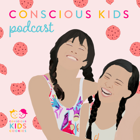Conscious Kids Podcast Graphic