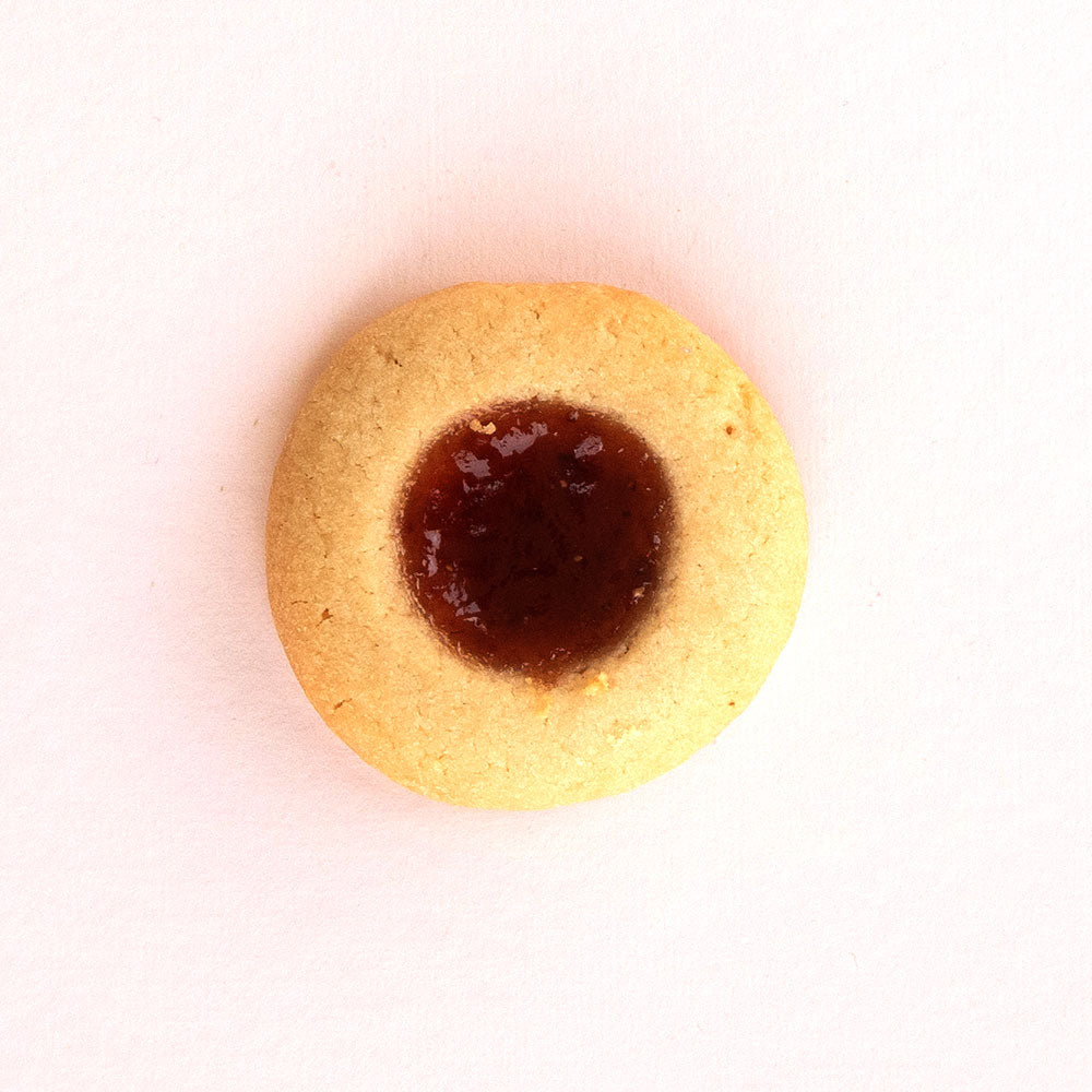 Jam and Strawberry Cookie: One Strong Cookie