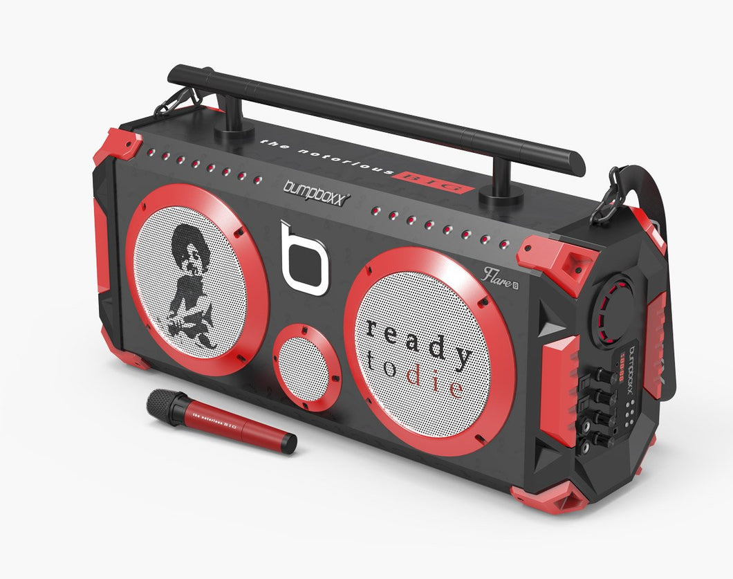 NOTORIOUS B.I.G. (BLACK) Flare8 Bluetooth Boombox