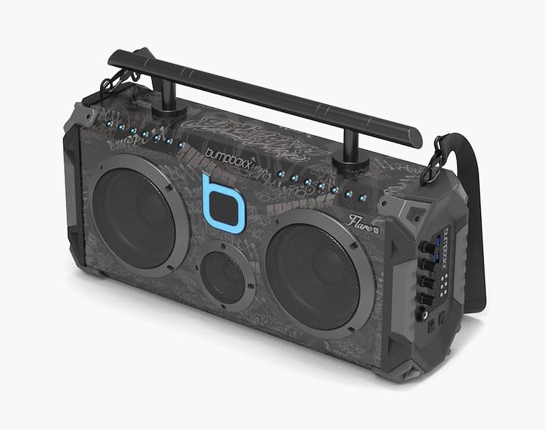 BLACK GRAFFITI Flare6 Bluetooth Boombox