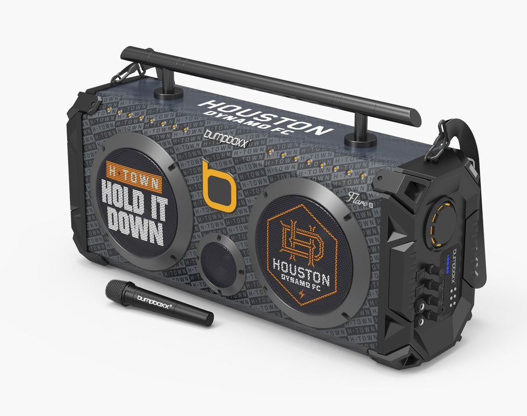 Houston Dynamo Flare8 Bluetooth Boombox