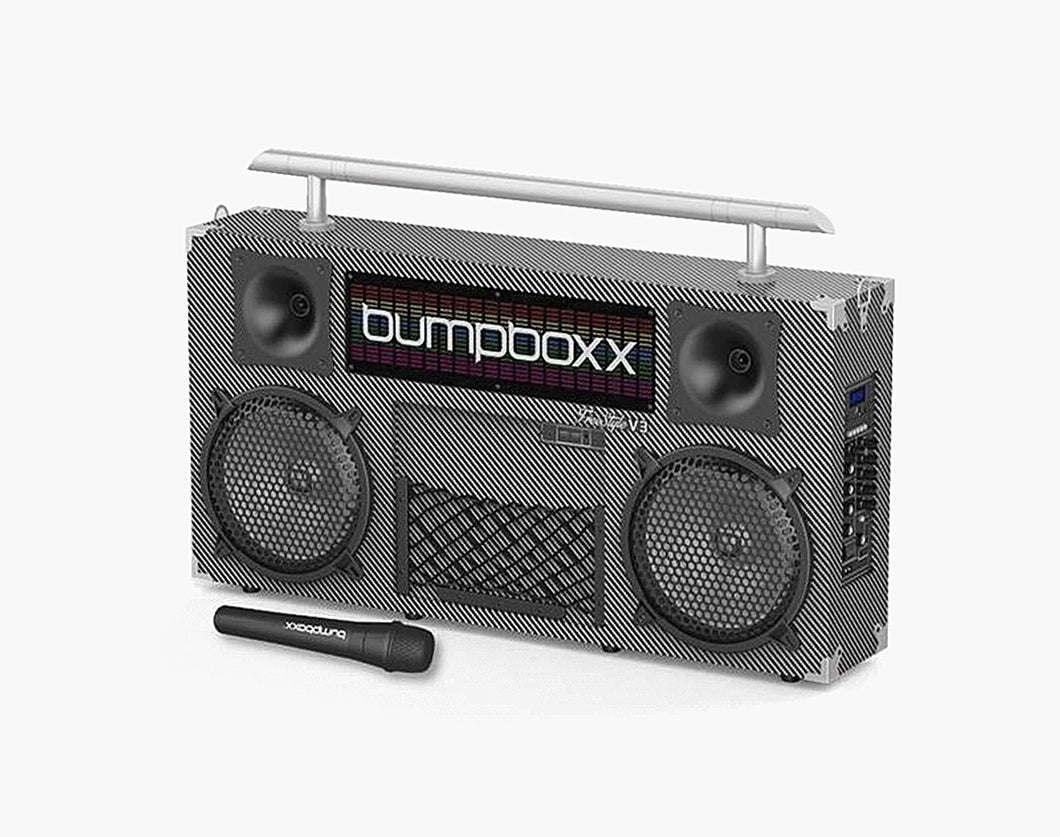 CARBON FIBER Freestyle V3S Bluetooth Boombox