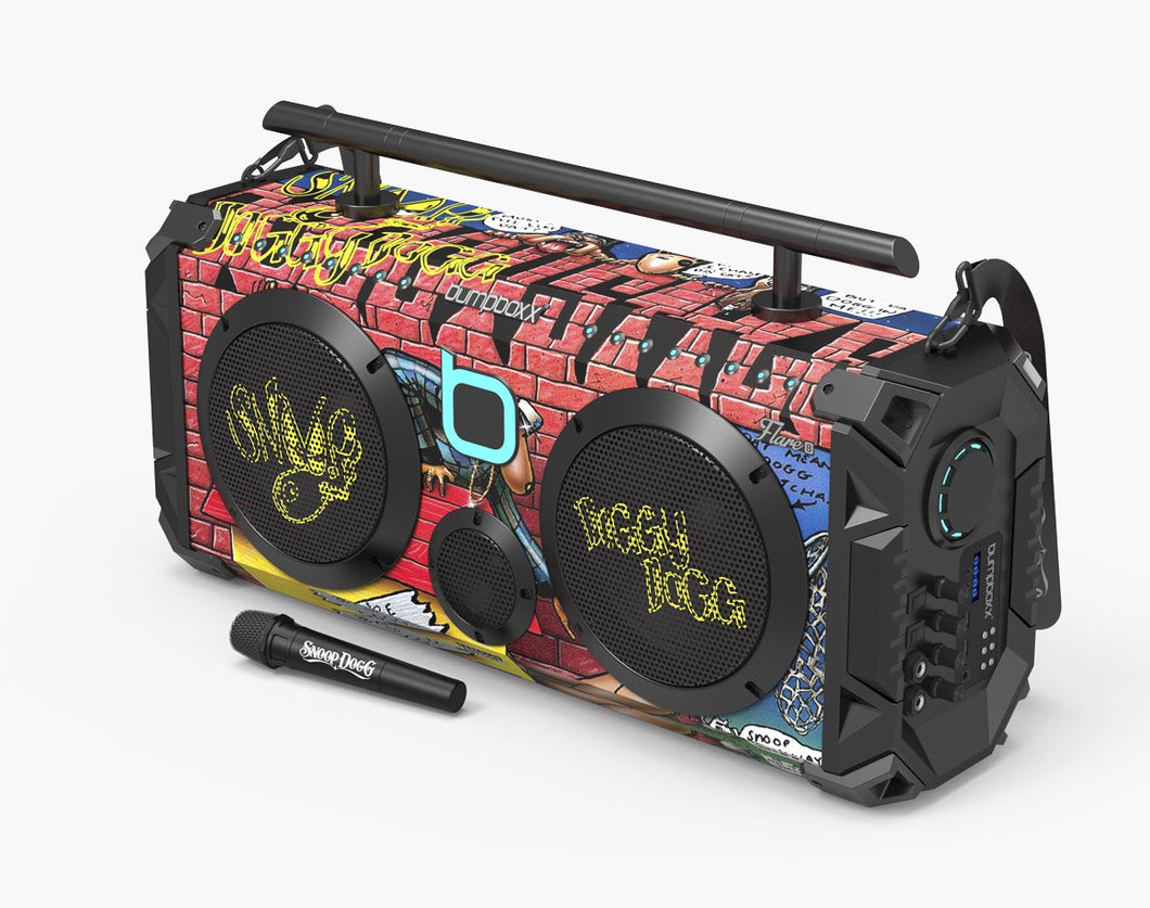 SNOOP DOGG Flare8 Bluetooth Boombox