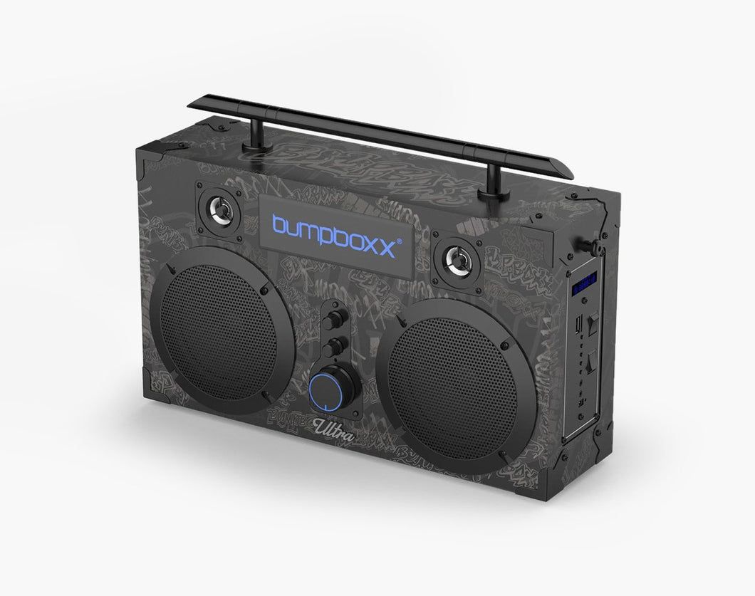 BLACK GRAFFITI Ultra Bluetooth Boombox