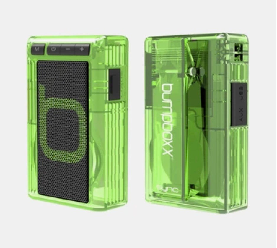CLEAR GREEN Retro Pager Bluetooth Speaker