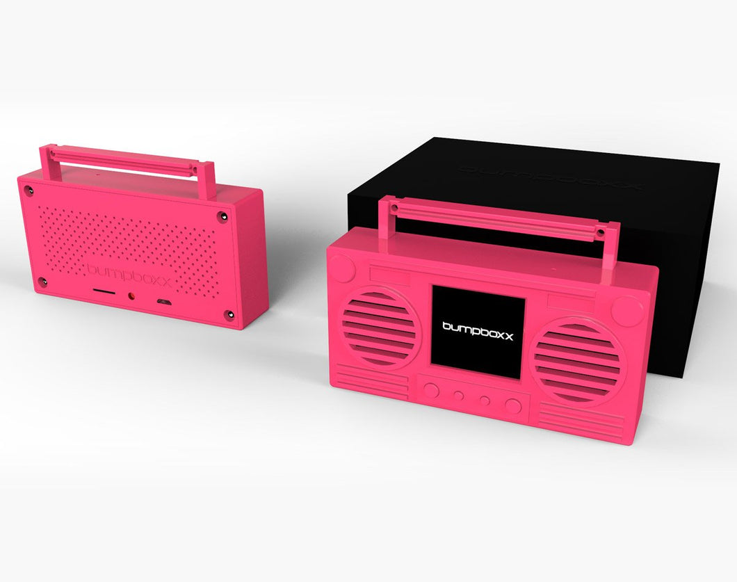 PINK Microboom Wearable Bluetooth Speaker Boombox