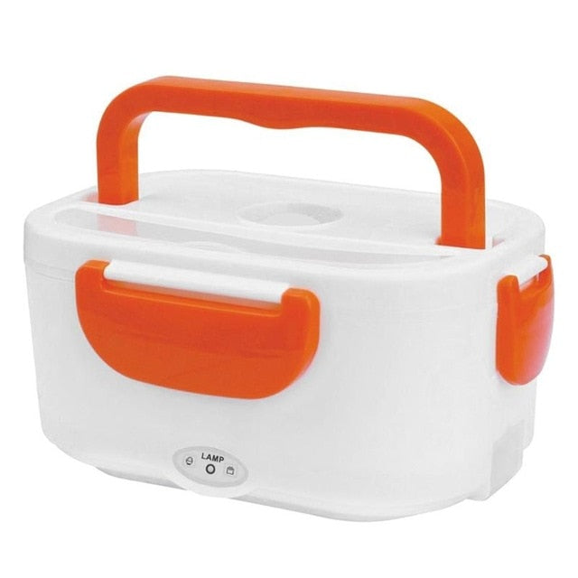 Portable Electric Heating Lunch Box 2 IN 1 - For Car,Truck,School and Work
