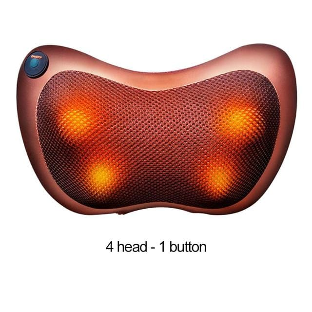 Shiatsu Pillow Massager With Heat