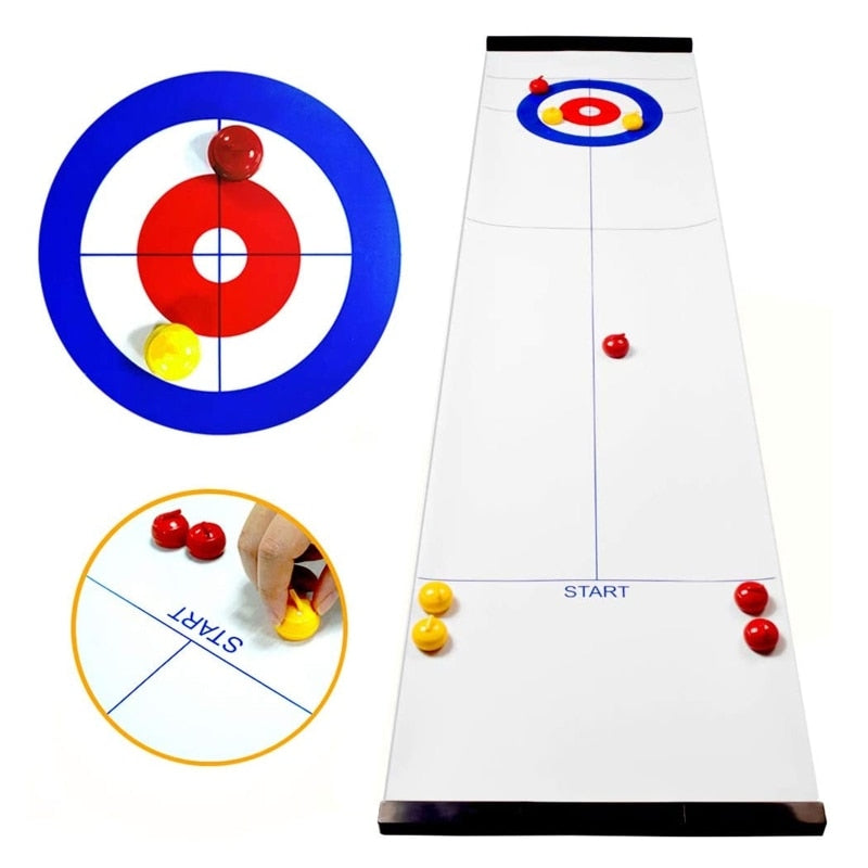Curling Game (Shuffleboard) - Tabletop Game
