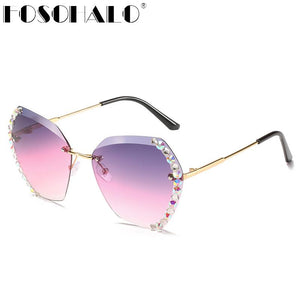 Diamond Hexagonal Sunglasses