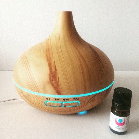 300ml Essential Oil Diffuser- NO additional shipping when purchased with Icekap!