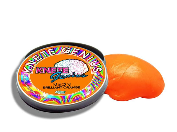 Knete Genius - Neon - Brilliant Orange