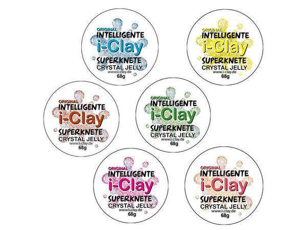 i-Clay, intelligente Superknete, Crystal Jelly