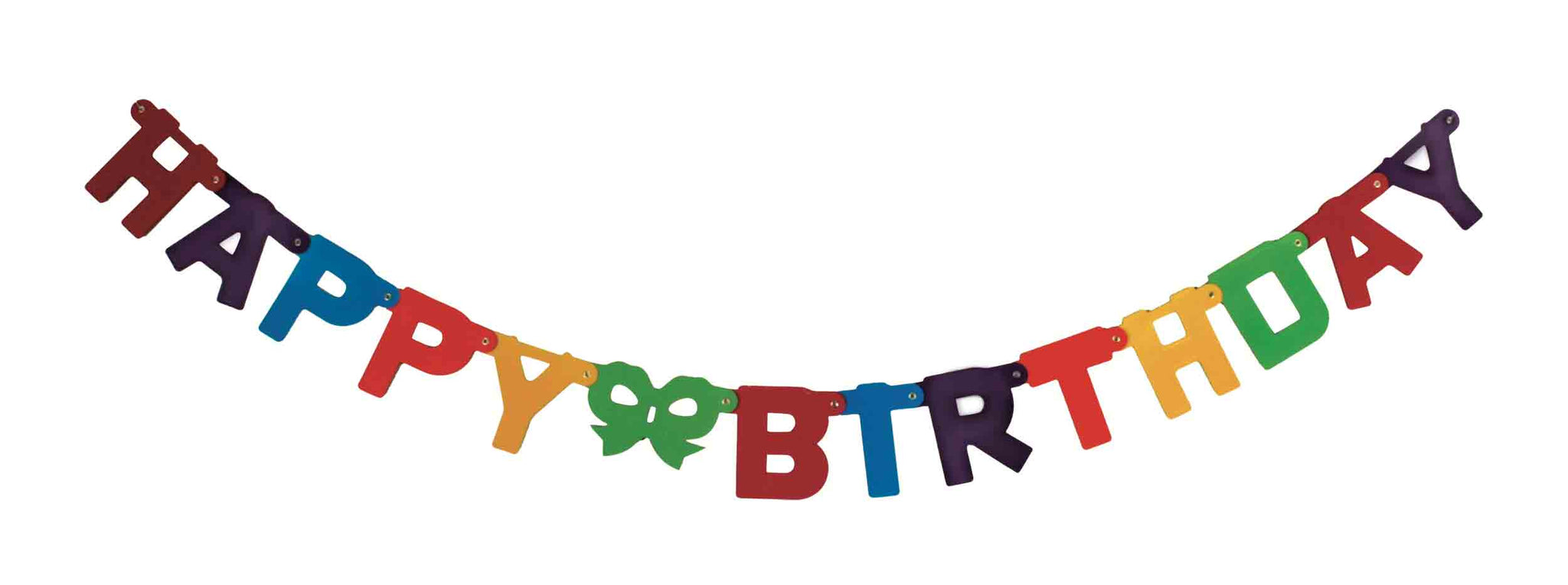 "STYLEX Buchstabenkette ""Happy Birthday"""