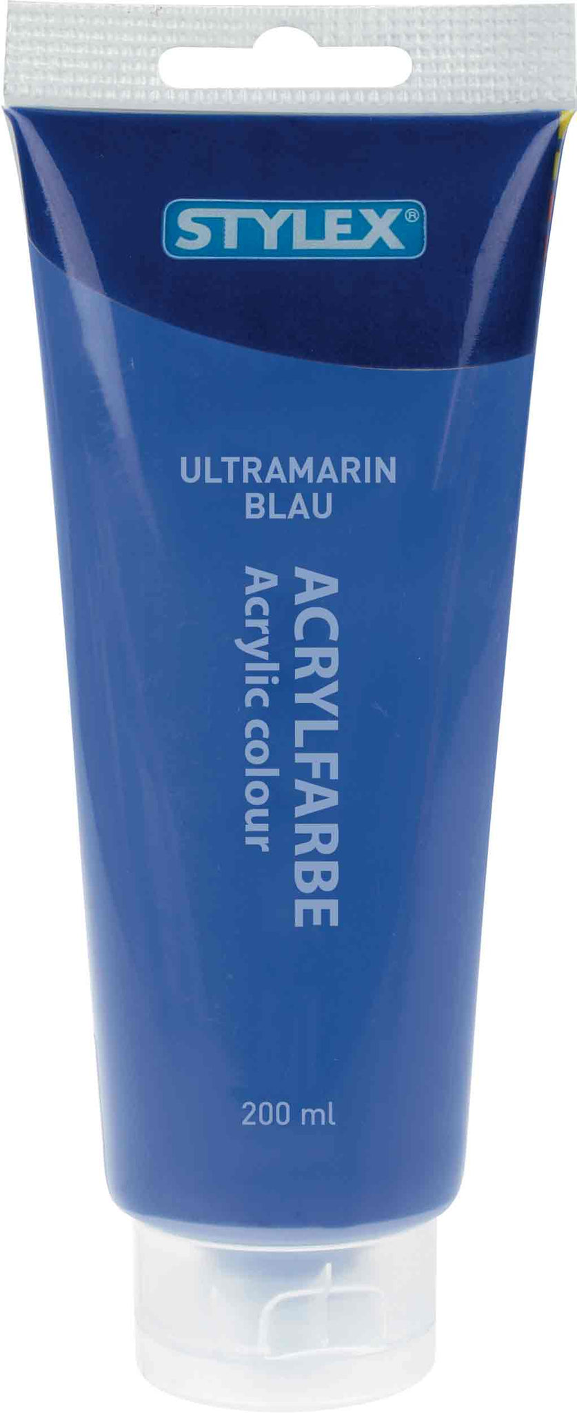 STYLEX Acrylfarbe 200 ml, Ultramarinblau