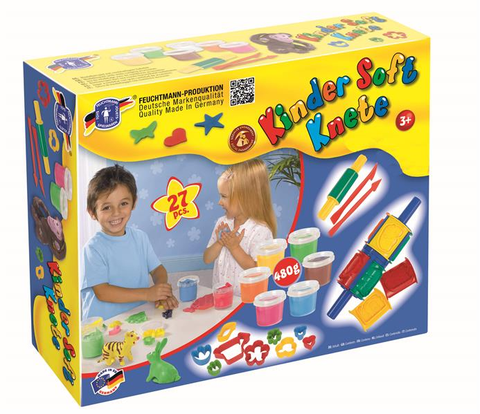 Feuchtmann Kinder Soft Knete Creative Box