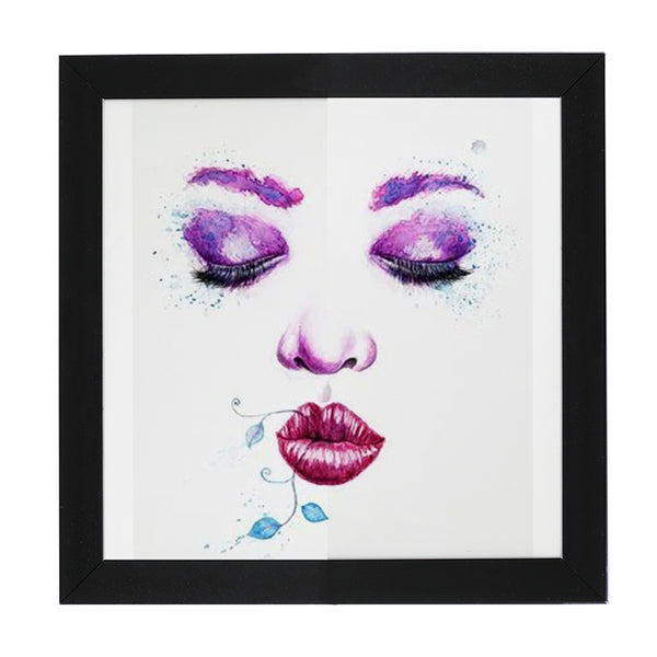 Face with liana - Eckig / Square