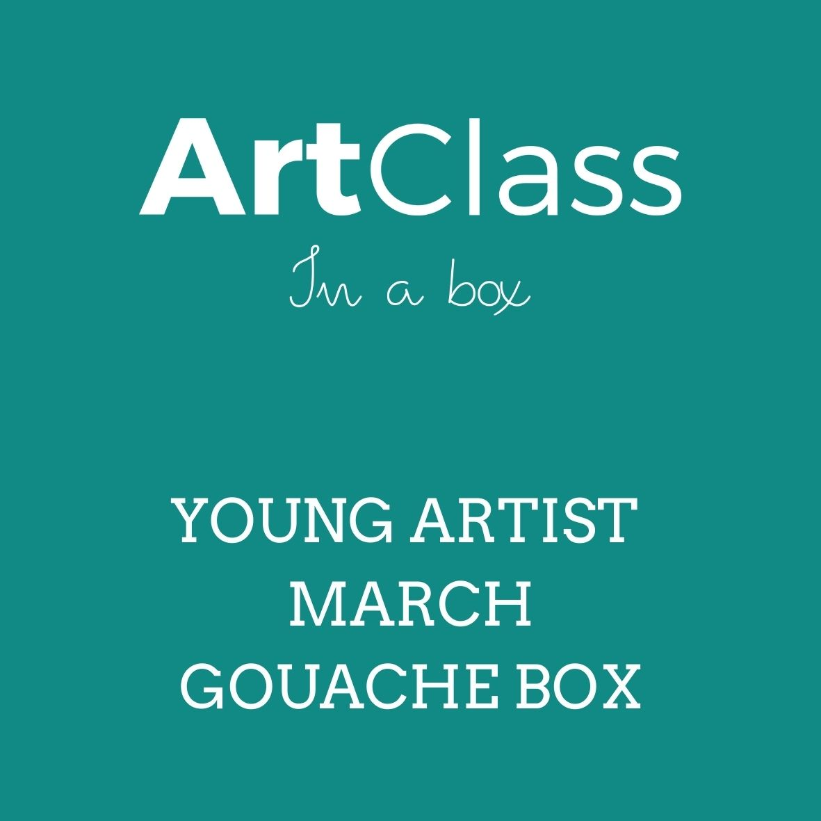 Young Artist March Gouache Box