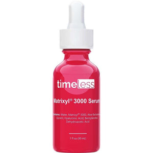 Timeless Matrixyl 3000 Serum 30 mL red dropper bottle Bev Sidders Skincare