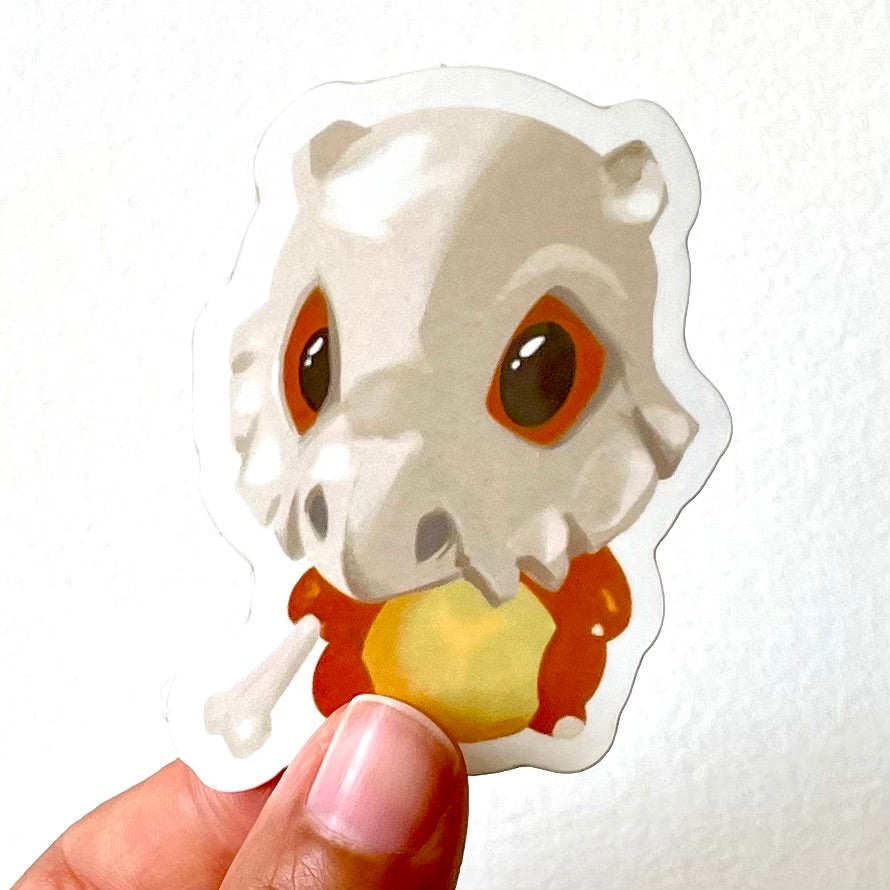 Chibi Cubone Sticker