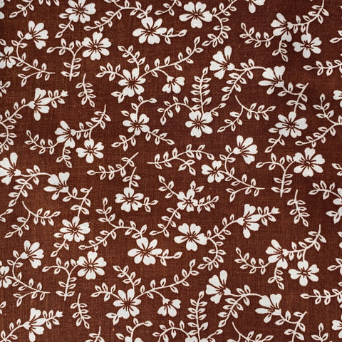 Fabric Face Mask (Cocoa Flowers)