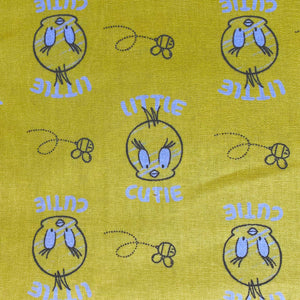 Fabric Face Mask (Tweety)
