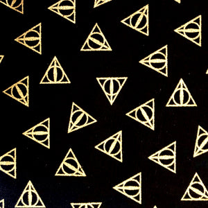 Fabric Face Mask (Harry Potter Gold/Black)