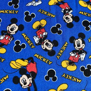Fabric Face Mask (Mickey Blue)