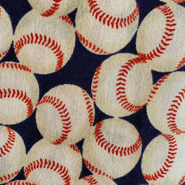 Fabric Face Mask (Baseball)