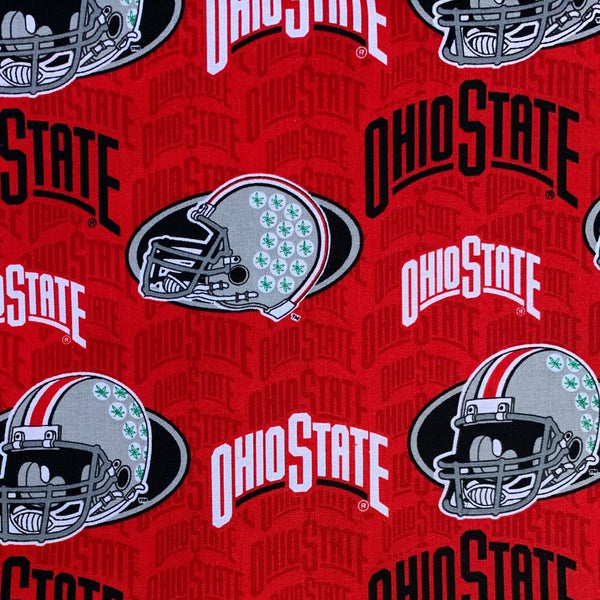Fabric Face Mask (Ohio State Classic)