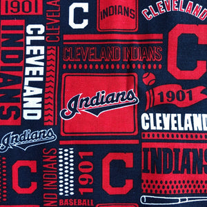 Fabric Face Mask (Cleveland Indians)