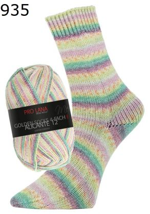 Pro Lana, Golden Socks 4ply Alicante Socks