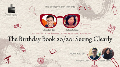 The Birthday Salon: The Birthday Book 2020 -- Seeing Clearly