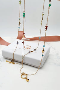 Double Celestial Necklace - Gold
