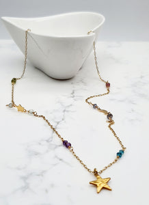 Celestial  Necklace - Gold