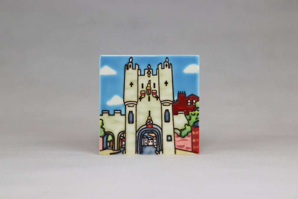 Questoe Ceramic York Coasters - Micklegate Bar