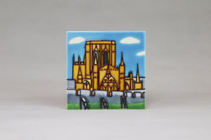 Questoe Ceramic York Coasters - York Minster