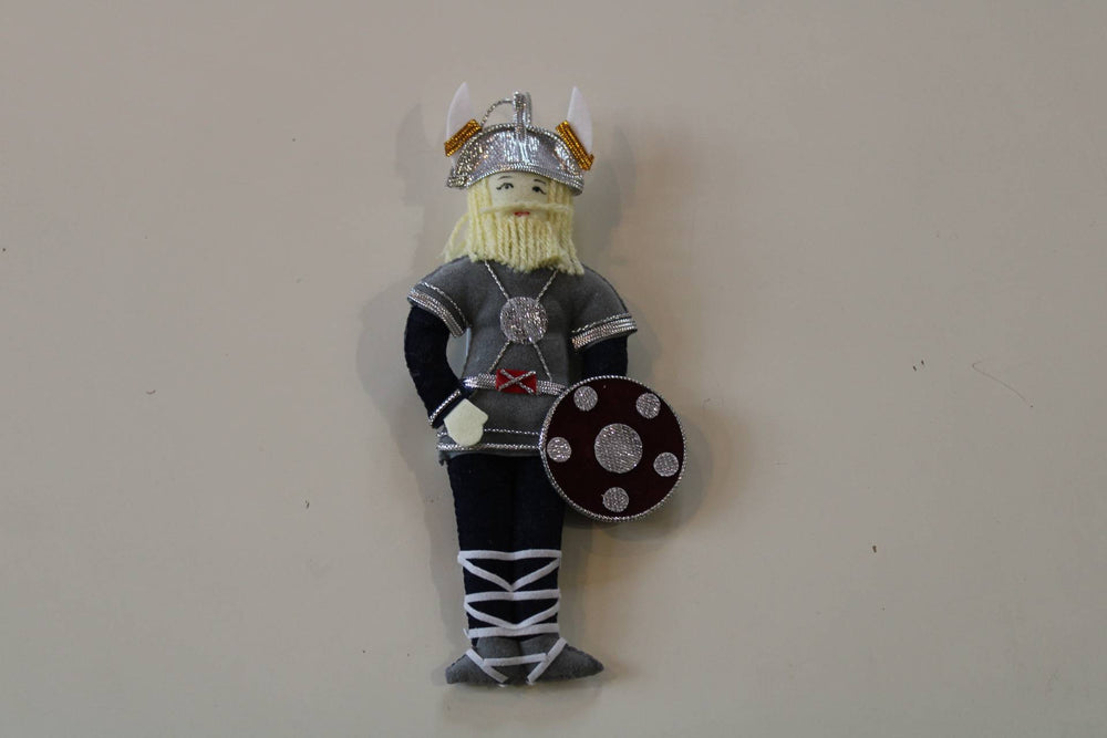 Viking Figure Hanging Decoration - St Nicolas