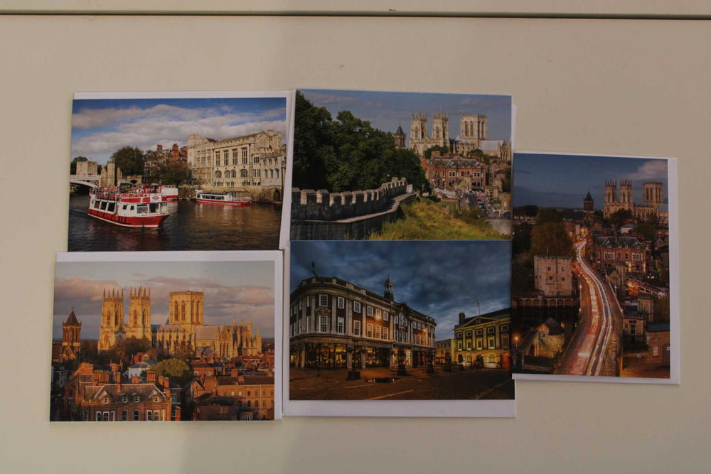 Load image into Gallery viewer, Pack of 5 York Greetings Cards - Chris Ceaser