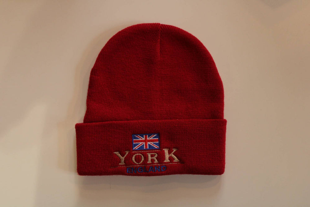 York Beanie Hat - Red