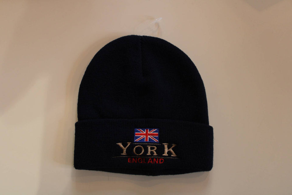 Load image into Gallery viewer, York Beanie Hat - Navy