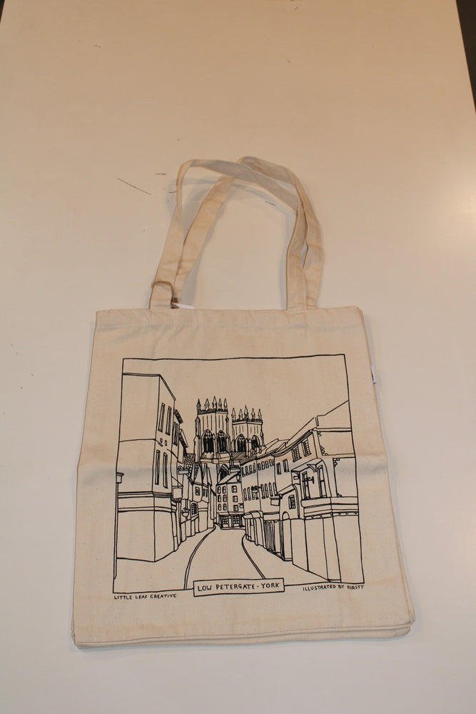 Load image into Gallery viewer, Little Leaf Creative - Low Petergate Tote Bag