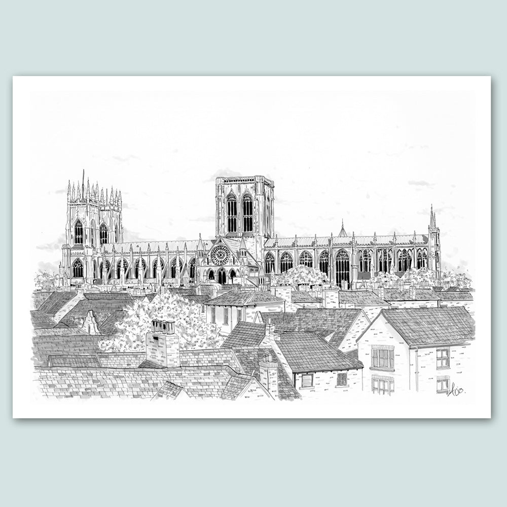 Art by Arjo York Minster Print