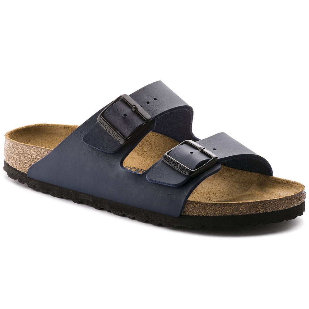 Birkenstock Arizona BS Biro-Flor, Regular Fit Flip Flops, Blue