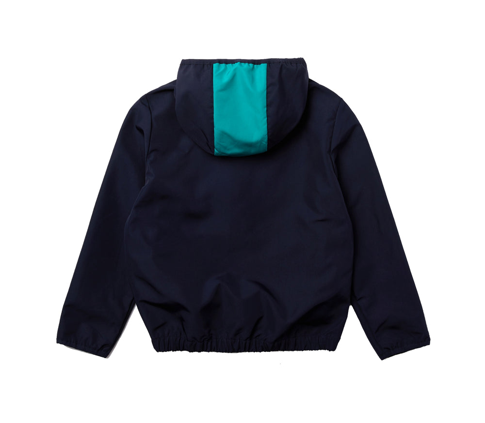 Load image into Gallery viewer, Lacoste Kids BJ8664 Boys Bicolour Water-Resistant Windbreaker