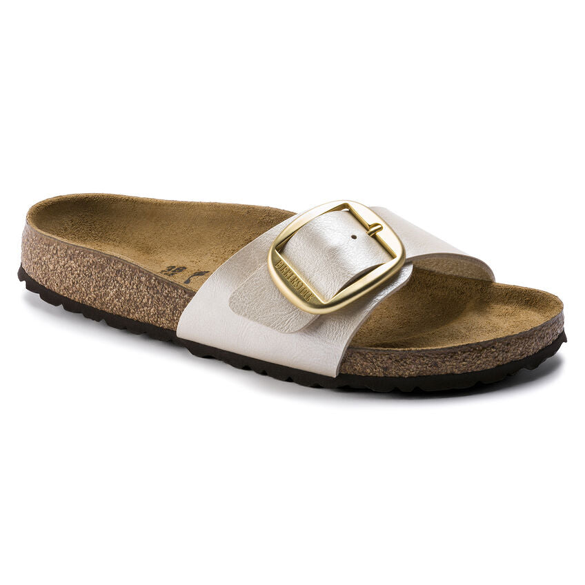 Birkenstock Madrid Big Buckle Graceful Pearl